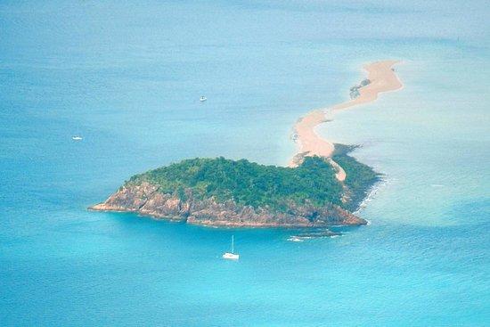 Whitehaven Beach : Знакомые острова с другого ракурса