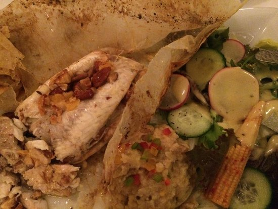 Meze By Lemon Tree : Fish cooked in parchment paper