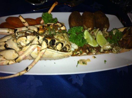 Echo Beach Hotel: Lobster