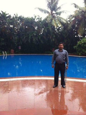 The Lalit Mumbai : Naveen at the Pool