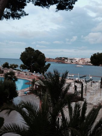 Intertur Hotel Miami Ibiza : View from room 134