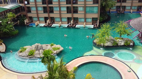 Novotel Phuket Vintage Park: View from our room