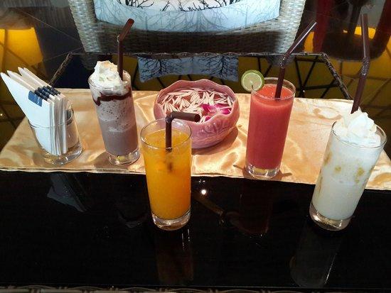 Novotel Phuket Vintage Park: compliementary drink