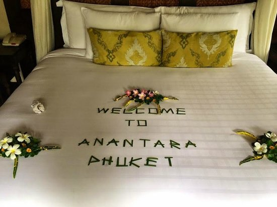 Anantara Mai Khao Phuket Villas: Something nice for guests after a long flight :-)