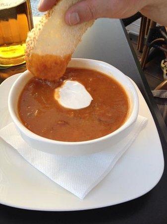 Gate Restaurant: czech cabbage soup...