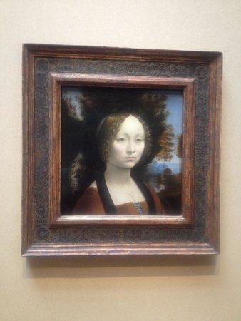 National Gallery of Art: Leonardo Di Vinci's beauty