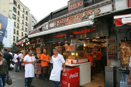 Kizilkayalar: Located at the beginning of Istiklal Street near Taksim Square