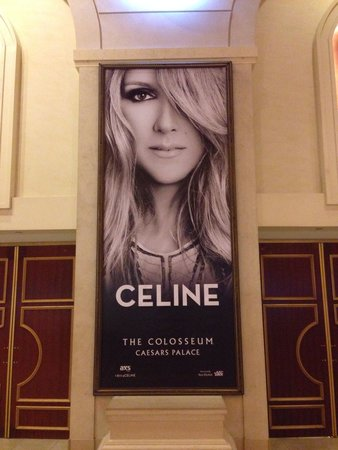 Celine Dion at the Colosseum at Caesars Palace : Cartaz