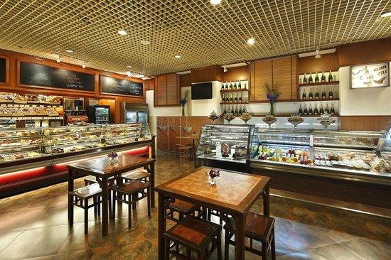 凯宾斯基饭店面包房
