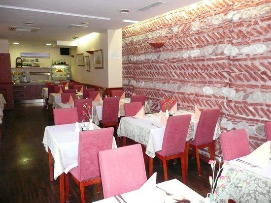Hotel Mrak: Dining room