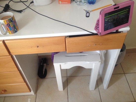 Messonghi Beach Resort : Old broken furniture