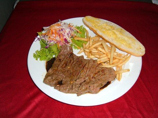 Kirin: Grilled Ostrich Steak