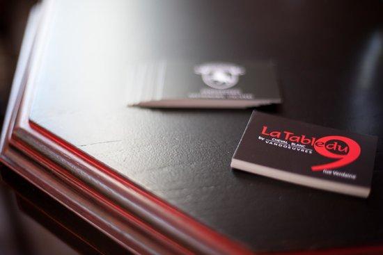 La table du 9 french restaurant rue verdaine 9 in for La table du 9