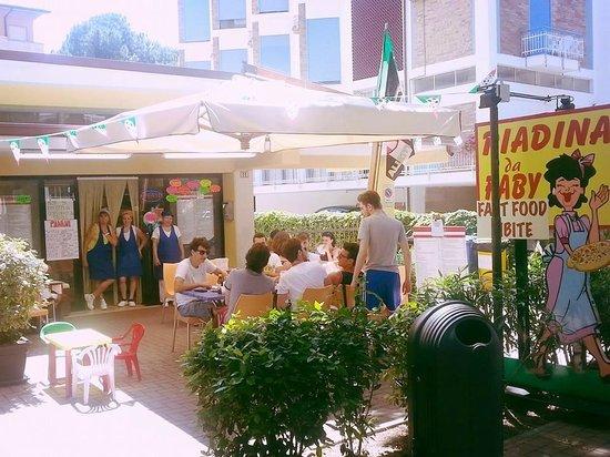 Piadina da faby cervia restaurant reviews phone number photos tripadvisor - Bagno holiday village ...