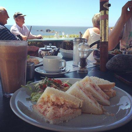 Polpeor Cafe: Crab Sandwich