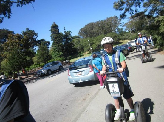 Electric Tour Company Segway Tours: Riding