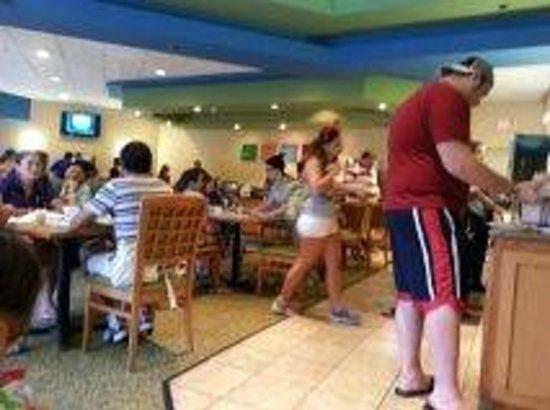 Comfort Inn Orlando/ Lake Buena Vista : desayuno