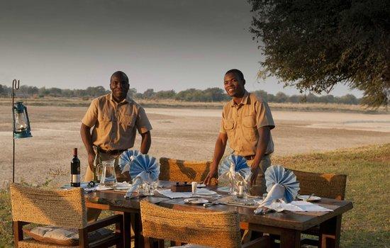 Luangwa River Camp: Friendly staff