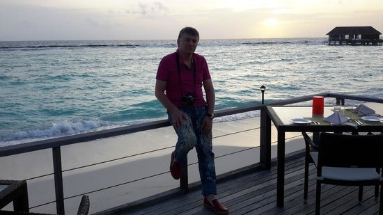 Dusit Thani Maldives: in the beach
