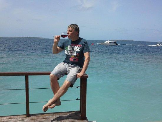 Dusit Thani Maldives: in our villa