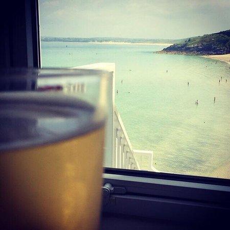 Pedn Olva Hotel: Sea view