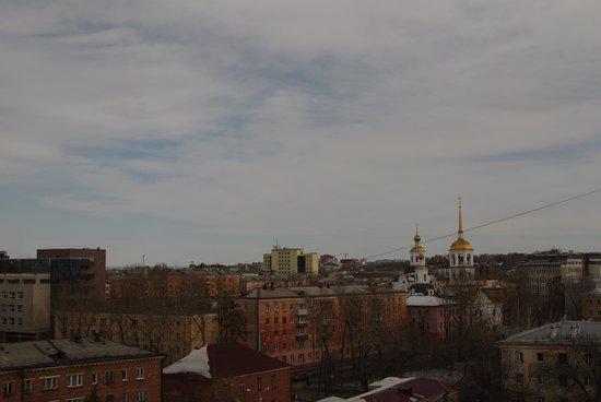 Hotel Irkutsk: Вид из номера