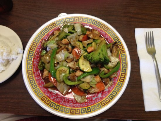 Waipouli Restaurant and Deli: Shrimp Chop Suey