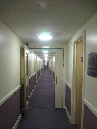 Premier Inn London Stansted Airport Hotel: VIew to rooms