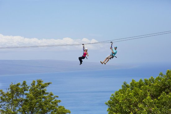 Skyline Ka'anapali Maui Zip n' Dip - Picture of Skyline