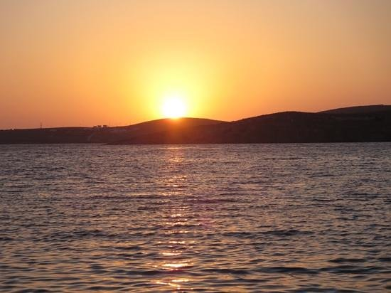 Aeoli: Sunset in Parikia, Paros, Greece