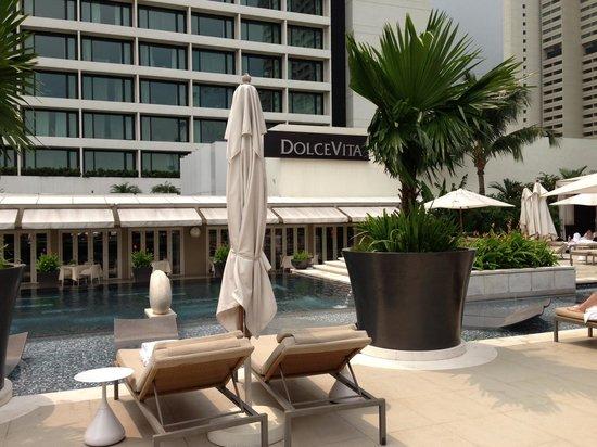Mandarin Oriental, Singapore: Poolside