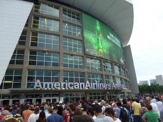 American Airlines Arena: vue extérieure
