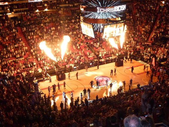 American Airlines Arena: Quel show!