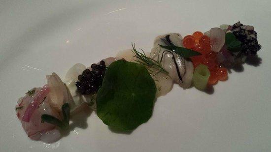 Jaan: ocean - seafood composition