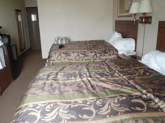 Ramada Fargo: Room (after use)