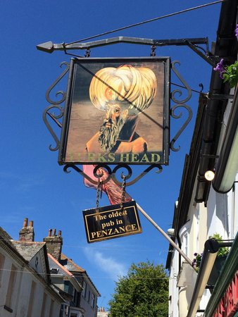 The Turks Head: Sign outside
