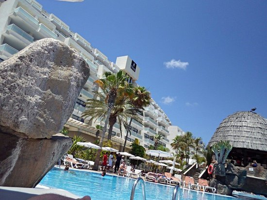 Taurito Princess: View from sunbed