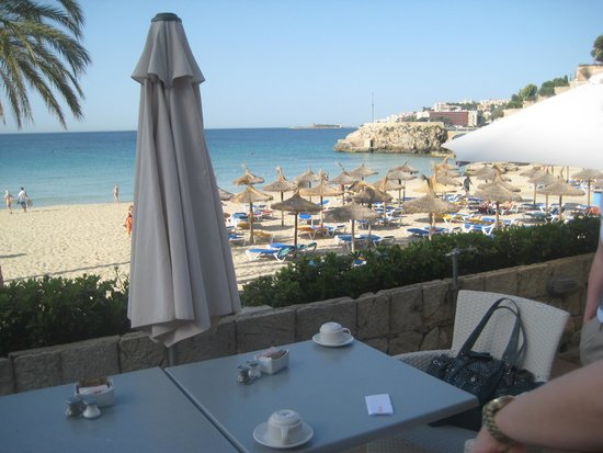 Be Live Adults Only La Cala Boutique: Terrasse mit Meerblich