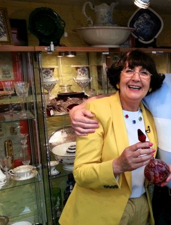 Anita Manning (BBC Antiques Road Trip) visited Northcote Road Antiques Market
