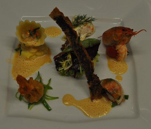 Restaurant Schaumburger Ritter: Flußkrebsvariation
