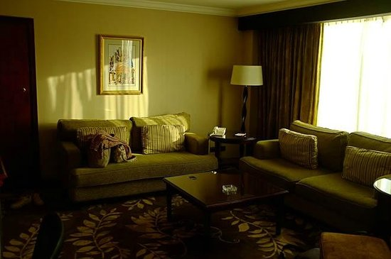Amman Marriott Hotel : Living room