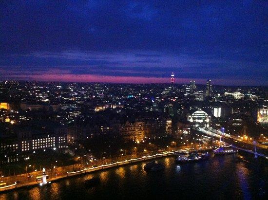 London Eye (El ojo de Londres): night