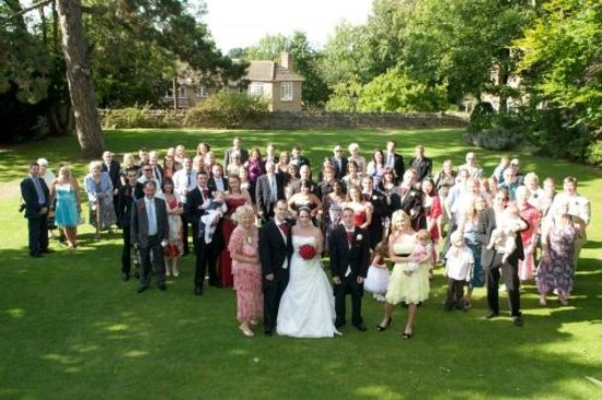 Hawkwell House Hotel: Group front lawn