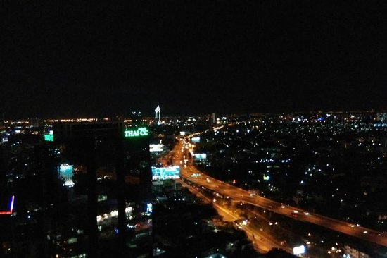 Mode Sathorn Hotel: View from rooftop bar