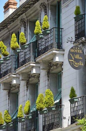 Hotel Villa Rivoli: Facade
