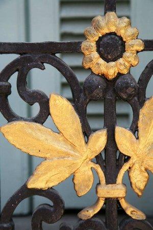 Hotel Villa Rivoli : Detail of Balcony