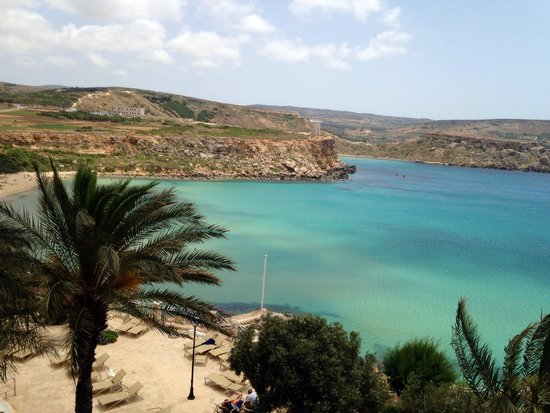 Radisson Blu Resort & Spa, Malta Golden Sands : Great view of the bay