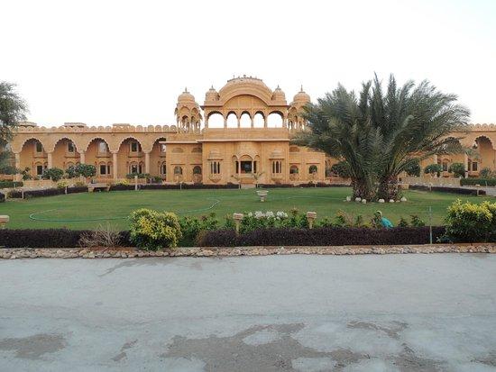 Fort Rajwada: View of the Hotel
