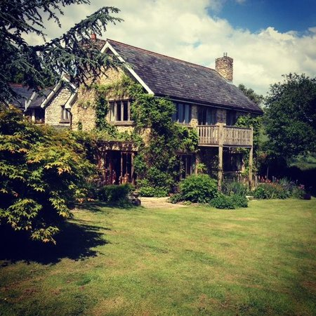 Summer Lodge and Garden