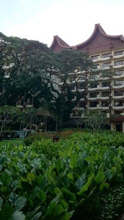 Shangri-La's Rasa Sayang Resort & Spa : View of Garden Wing